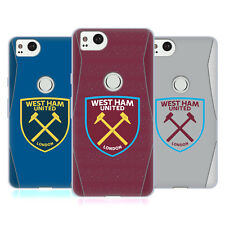 OFFICIAL WEST HAM UNITED FC 2018/19 CREST KIT GEL CASE FOR AMAZON ASUS ONEPLUS