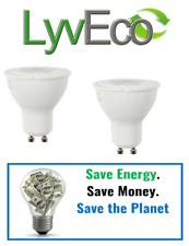 Lyveco Energy Saving Bulbs GU10 & MR16 Spotlights 3W,5W & 7W {UK Made} 25,000hrs