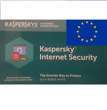 Kaspersky Internet Security MultiDevice 2019 (1, 2, 3, 5, 10 dispositivos) 1 año