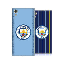 MANCHESTER CITY MAN CITY FC 2018/19 BADGE KIT SOFT GEL CASE FOR SONY PHONES 1
