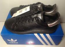 adidas Originals Women's Stan Smith Trainers Black(Brand New & Box) RRP £69.99