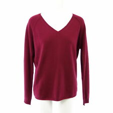 Not Shy Pullover Donna Tomaie S 36 L 40 Rosso Cashmere Maglia Np 219 Nuovo