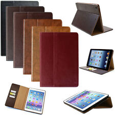 LUXURY Cuero Funda para Apple iPad Air 1 Funda protectora tableta Inteligente