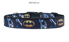 "Negro"" The Caped Crusader ""Batman cm correa para Perro Mediano Grande & Conjunto"
