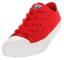 Converse Kids Sneakers Chuck Taylor All Star II OX Salsa Red/White/Navy 350151C-