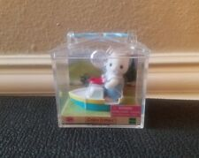 Calico Critters Baby Cat Mini Carry Case Kitten on a Boat CC1990