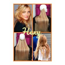 HALO WIRE HAIR EXTENSIONS 100G #27/613 STRAWBERRY/LIGHT BLONDE HUMAN REMY FLIP