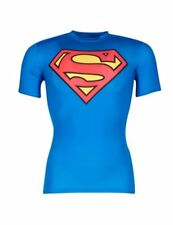 T-shirt uomini Under Armour  ALTER EGO COMPRESSION SS  Blu