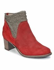 Tronchetti donne Dkode  CANDY-RED-034  rosso  - Cuoio