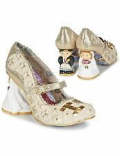 Scarpe donne Irregular Choice  I LOVE YOU  oro  - Cuoio