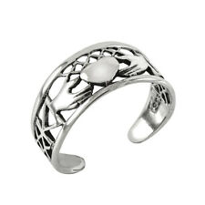 donna argento sterling 925 Claddagh ANELLO DITO PIEDE