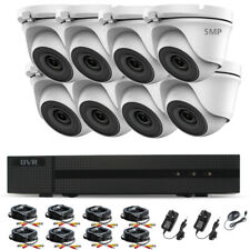 Hikvision 5MP CCTV System 4K UHD DVR 4CH 8CH HD Outdoor Camera Home Security Kit