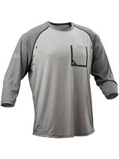 Race Face Charcoal-Black Stage MTB Jersey ¾ Sleeved