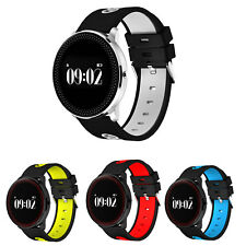 Reloj de Pulsera Inteligente Impermeable Bluetooth 4.0 Monitor Salud iOS Android