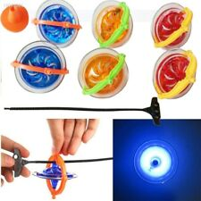 Creative Novelty Fun Funny LED Light Music Gyroscope Spinning Top Toys 31EF
