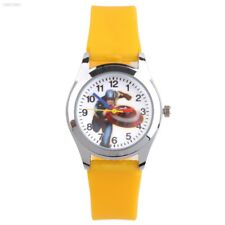 Children Unisex Silicone Slap On Pop Wrist Watch Cartoon Quartz Kid Gift AA37