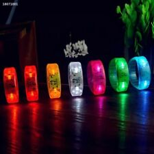 Sound  Activated Voice control LED Bracelet Flashing Wristband Party Stick 330A
