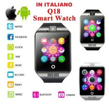 Q18 Reloj Inteligente Smart Watch Bluetooth SIM Para iPhone Samsung Android NUE
