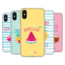 OFFICIAL MUY POP SUNNY SIDE UP FRUITS SOFT GEL CASE FOR APPLE iPHONE PHONES