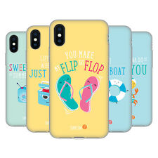 OFFICIAL MUY POP SUNNY SIDE UP SUMMER SOFT GEL CASE FOR APPLE iPHONE PHONES