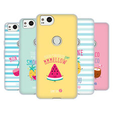 OFFICIAL MUY POP SUNNY SIDE UP FRUITS SOFT GEL CASE FOR AMAZON ASUS ONEPLUS