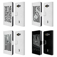 JUVENTUS FC 2018/19 GRAPHIC LOGO LEATHER BOOK WALLET CASE FOR SAMSUNG PHONES 2