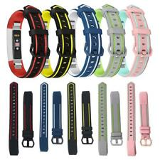 For Fitbit Alta/Alta HR/Ace Dual Color Replacement Smart Watch Strap Wrist Band