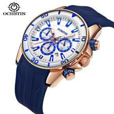 2018 OCHSTIN Business Quartz Watch Top Brand Luxury Silicone Men Watch Waterproo
