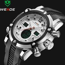 2018 Luxury Brand Top Men Army Military Watch Men's Quartz LED Digital Leather L