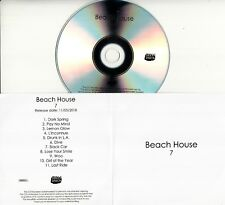 BEACH HOUSE 7 2018 UK 11-trk numbered promo test CD Bella Union + PR