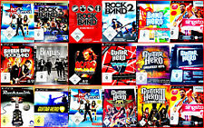PS3 GUITAR/BAND HERO AUSWAHL: World,Aerosmith,Greatest Hits, GH 1,2,3, Rock Band