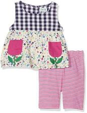 Lilly and Sid Flower Pocket Set, Completino Bimba 0-24 - NUOVO