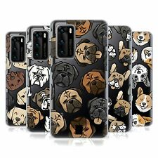 HEAD CASE DESIGNS DOG HEAD PATTERNS SOFT GEL CASE FOR HUAWEI PHONES
