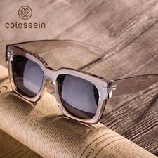 COLOSSEIN Fashion Sunglasses Women Loves Oversized Square Frame Eyewear 2018 New