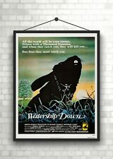 Watership Down Classic Large Movie Poster Art Print A0 A1 A2 A3 A4 Maxi