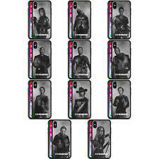 OFFICIAL AMC THE WALKING DEAD EXPOSURE BLACK HYBRID GLASS CASE FOR iPHONE PHONES