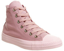 Womens Converse Converse All Star Hi Trainers RUST PINK Trainers Shoes