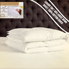 Extra Filled 40% Down WINTER EXTRA WARM 15 Tog Goose Feather  Duvet/Quilt