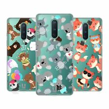 HEAD CASE DESIGNS LOVELY ANIMALS SOFT GEL CASE FOR AMAZON ASUS ONEPLUS