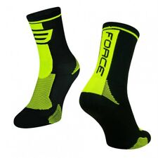 Force Calze Ciclo Lungo Nero Fluo