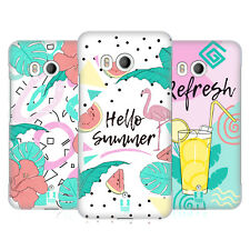 HEAD CASE DESIGNS RETRO SUMMER HARD BACK CASE FOR HTC PHONES 1