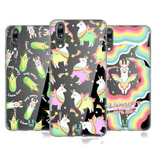 HEAD CASE DESIGNS LLAMACORN SOFT GEL CASE FOR HUAWEI PHONES