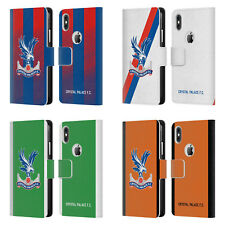 CRYSTAL PALACE FC 2018/19 PLAYERS KIT LEATHER BOOK CASE FOR APPLE iPHONE PHONES