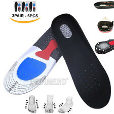 PEDIMEND™ Arch Support Insoles Gel Heel Cup 3PAIR Provides Relief from Heel Pain