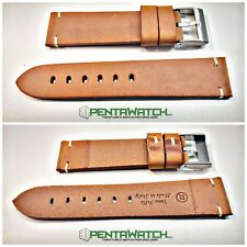 Cinturino Pelle Vintage made in italy Marrone Gold Strap Leather ROLEX  Brown