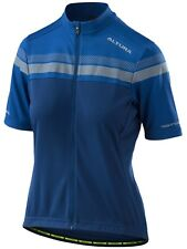 Altura Night Blue-Royal Blue 2018 Nightvision Womens Short Sleeved Cycling Jerse