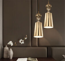 New Modern Pendant Light Metal Fabric Lamp Study Bedroom Living Dinning Room