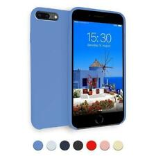 Funda Dura Apple iPhone 7 Plus 8 + Suave acabado Silicona Carcasa Hard Case