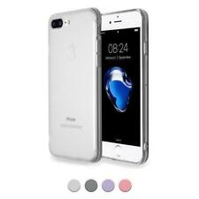 Funda Silicona TPU Apple iPhone 7 Plus 8 + Carcasa Anti Polvo Slim Case 1mm
