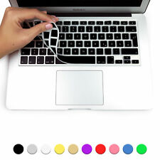 Protezione Tastiera Apple Macbook Air Pro Retina 13 15 Layout QWERTZ GERMAN Nero